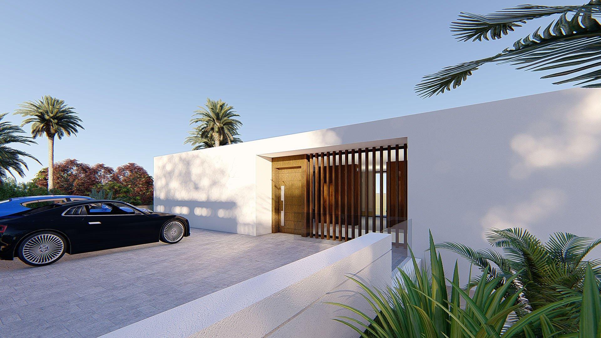 Valle Romano 14: Contemporary villa with golf and sea views