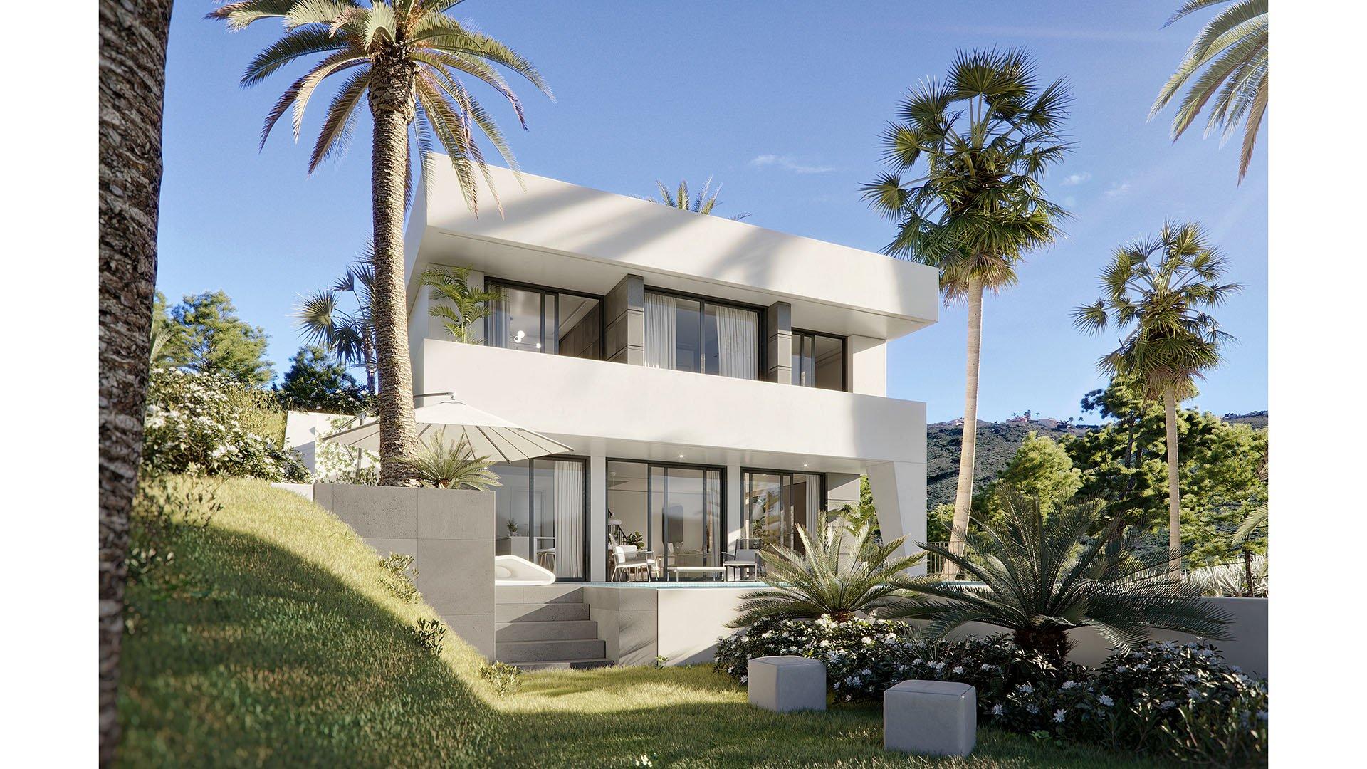 Villa Angelo: Moderne villa in Benalmádena