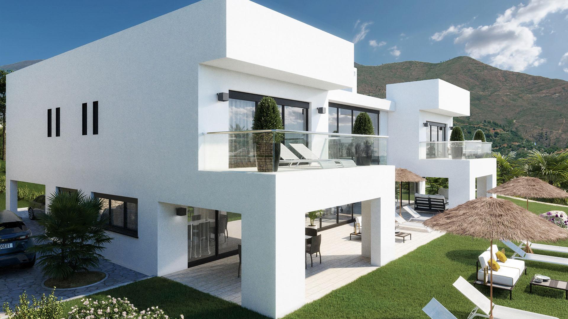 Villa La Mairena 1303: Indrukwekkende luxe villa in La Mairena, Oost Marbella