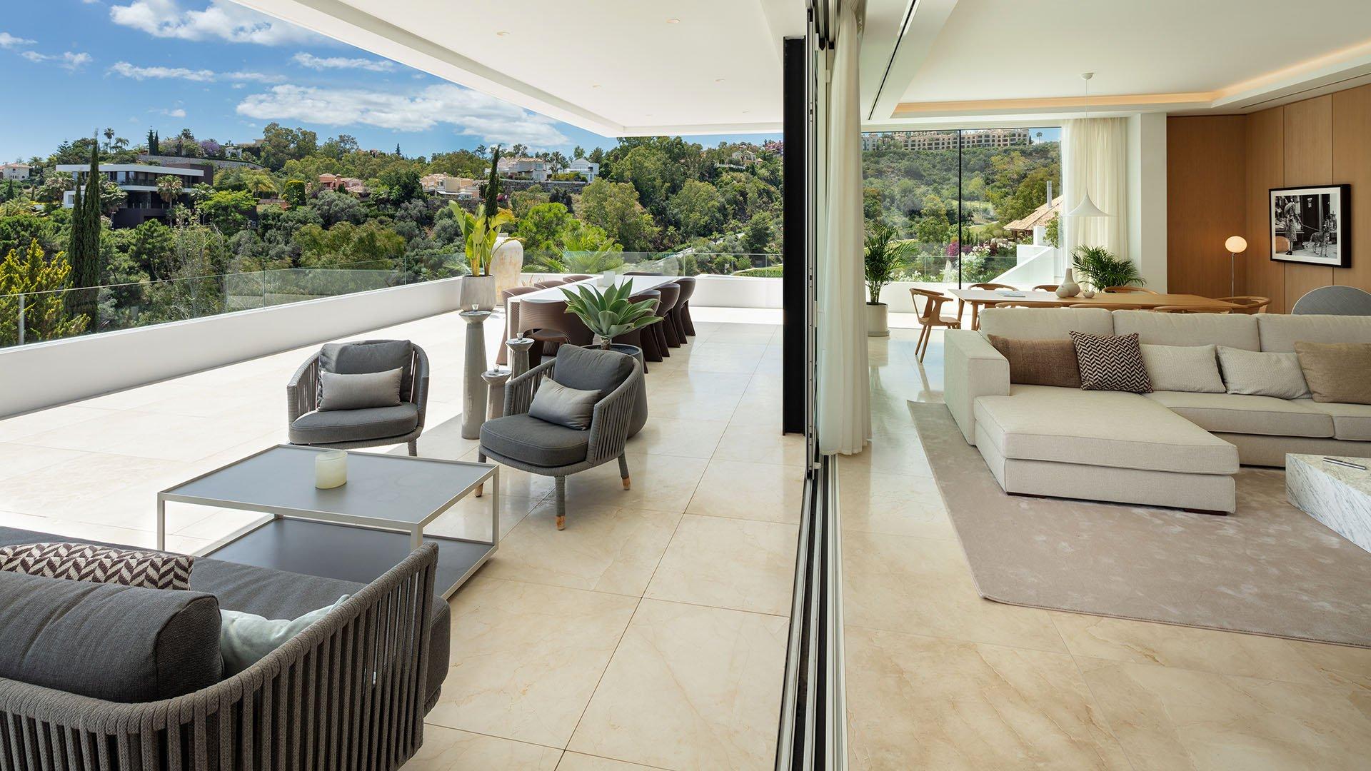 Villa La Quinta 106: Contemporary villa with sea view in La Quinta, Marbella