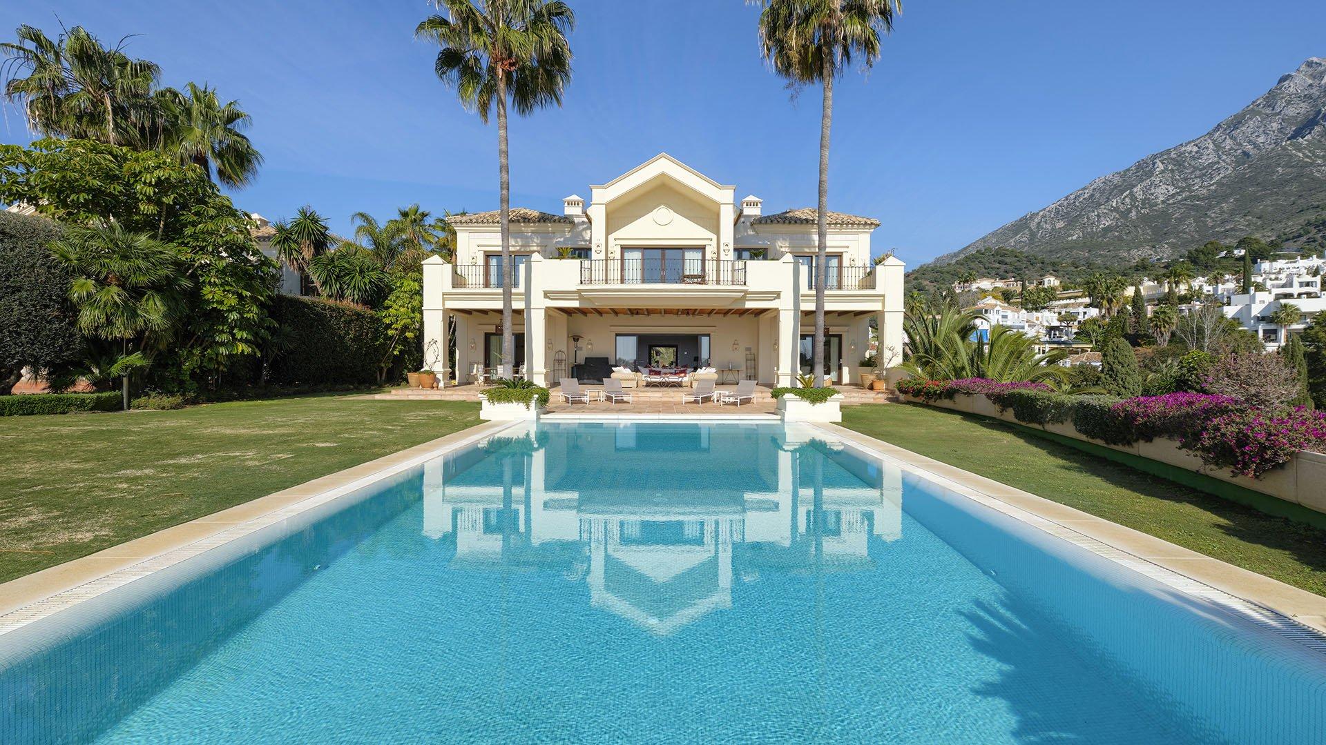 Villa La Rotonda B: Klassieke villa aan de Golden Mile in Marbella