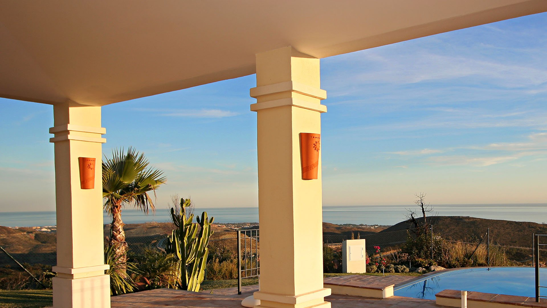 Villa Marbella Club Golf Resort: Villa on the top of the hill at Monte Mayor