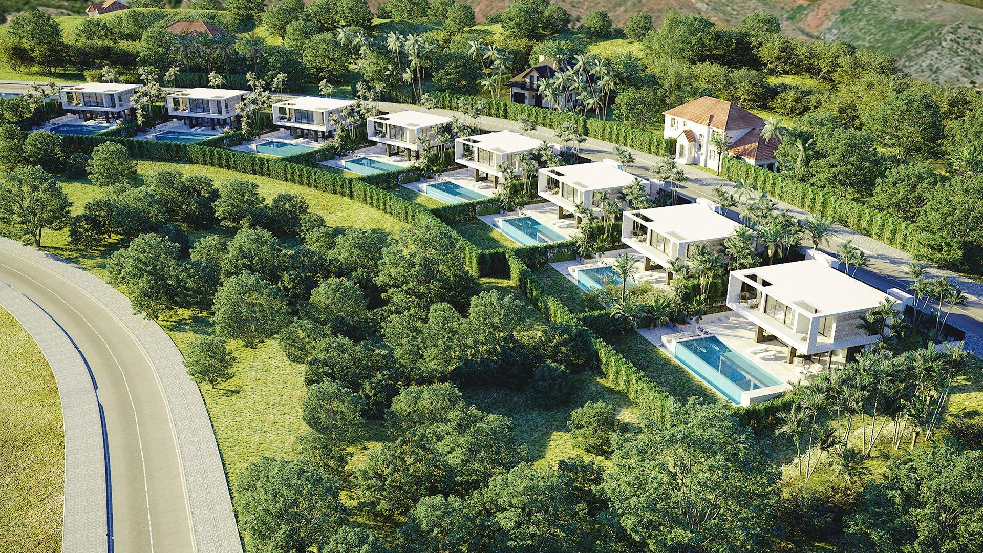 Valle Romano Green: Contemporary villas in Valle Romana Golf resort – Estepona