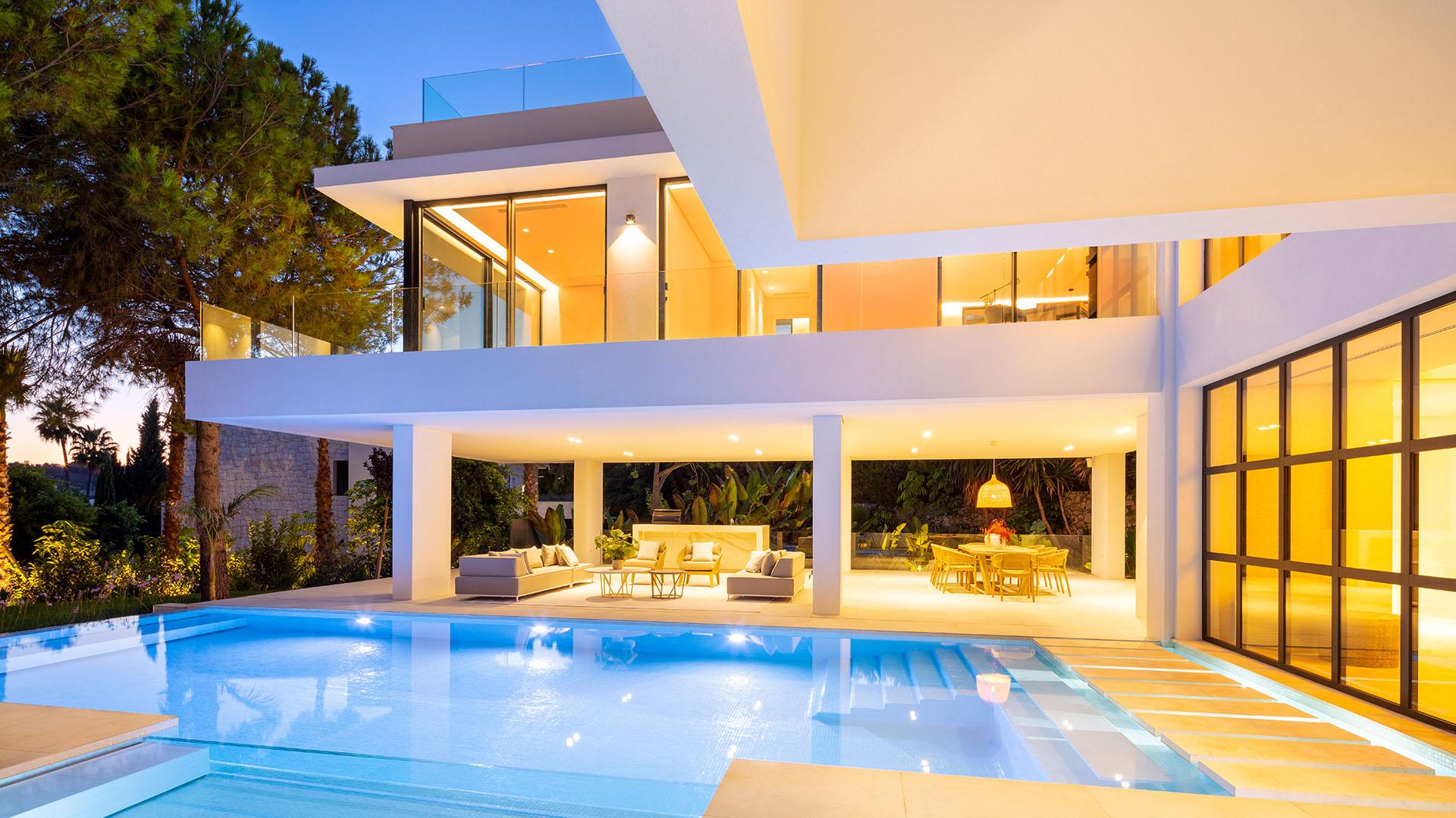Aloha 138: Eigentijdse villa in in Marbella