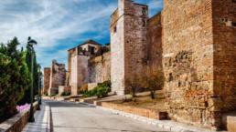 malaga castillo gibralfaro malaga uai