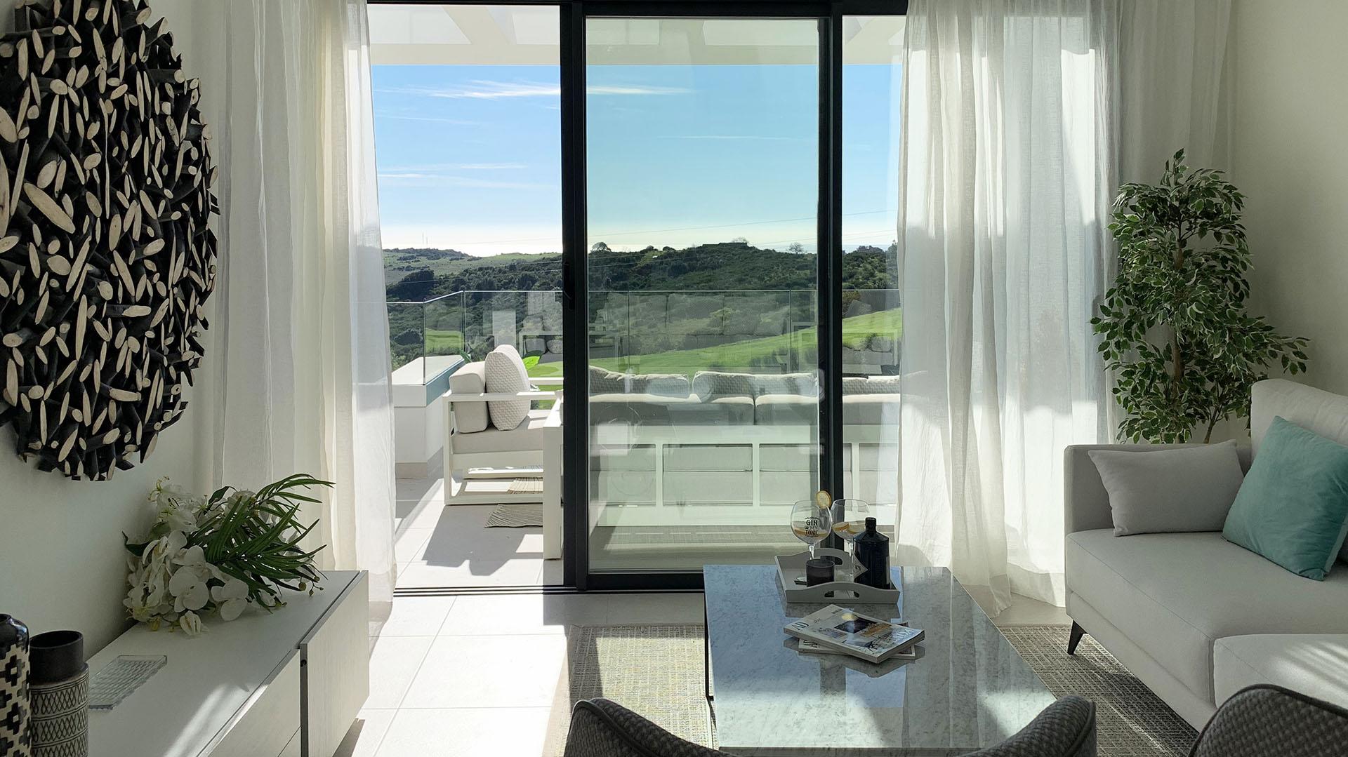 Mirador del Golf: Apartments in Estepona with stunning views