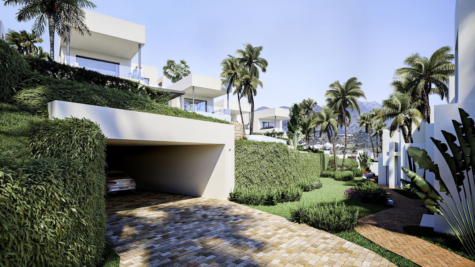 Soul Marbella Sunrise: Villa in Marbella omgeven door golf resort
